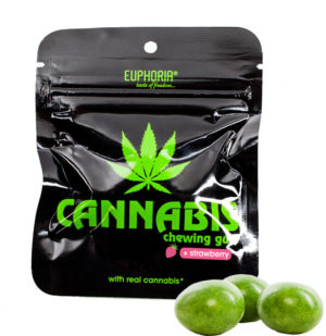 Euphoria-Cannabis-Strawberry-Chewing-Gum